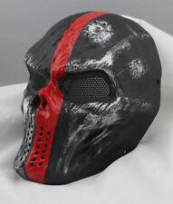 COOL Fiberglass Resin Mesh Eye Airsoft Paintball Full Face Protection Mask 6313