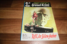 ARGENTO Creepy-thriller # 173 -- kefil, il Golem-realizzatori // negromante STANLEY'S