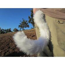 "Colorful Kitten Costume Tails 24"" by AnthroWear - Furry Clip-On Cosplay Accessor"