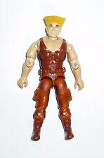 GI JOE Guile Vintage Figura de acción STREET FIGHTER 2 Completo 3 3/4 C9+