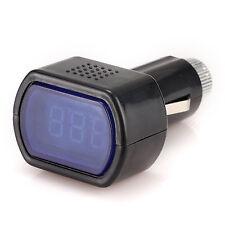12V/24V LED Display Digital Auto Car Voltmeter, Voltage Gauge Monitor