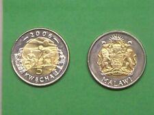 Malawi set of 2 coins 5-10 kwacha 2006 BiMetallic