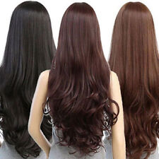 Sexy Women's Fashion Wavy Curly Long Hair Full Wigs Cosplay Party Wig 2017 New