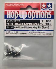Tamiya 54237 M-05 Low Friction King Pin (4 Pcs) (M05/M06/TA04/TA05) NIP