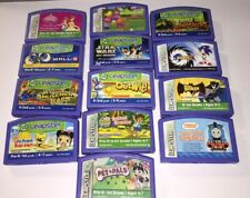 Leapster Leap Frog Game Lot of 13 Cartridges Kids Educational Learning