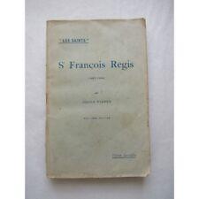 Saint François Régis, par Joseph Vianey, 1931