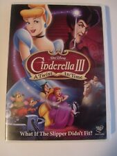 Disney - Cinderella III: A Twist in Time (DVD, 2007)2