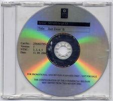 STATUS QUO Just Doin' It 2006 UK promo DVD