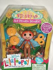 Lalaloopsy Ace Fender Bender Silly Funhouse Mini Collectable Doll #2 Series 10