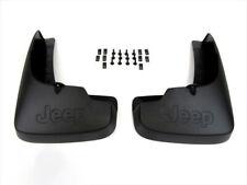 OEM MOPAR NEW 2008-2012 Jeep Liberty Front LH RH Molded Splash Guards Mud Flaps