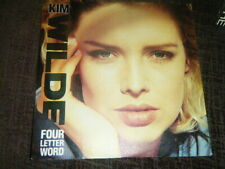 """KIM WILDE - FOUR LETTER WORD  -7"""" SINGLE -  80'S / NEW WAVE"""