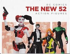 DC COLLECTIBLES 52 ACTION FIGURES JOKER POISON IVY RETAILER PROMOTIONAL POSTER