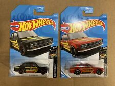 New ListingHot Wheels '71 Datsun 510 Kmart Kday Exclusive Momo (Creased Card)& red 510