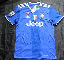 JUVENTUS TORINO Bianconeri JUVE away shirt jersey ADIDAS 2016-2017 /adult SIZE S