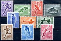SOMALIA AFIS 1958- SPORT VARI  PO+PA Serie  Nuova **