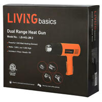 Home Gardeen Air Heat Gun Dual Temperature Paint Stripper DIY Tool + 4 Nozzle