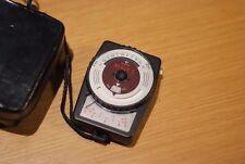 Gossen Bisix 2 Light Meter, Made in Germany, with Case, Vintage, Retro, Rare