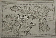 CARTE DU KATAY OU EMPIRE DE KIN POUR SERVIR HISTOIRE DE GENGIS KHAN , 1749