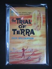 Jack Williamson THE TRIAL OF TERRA Vintage PB ACE D-555 1962 1st Book Publicatio