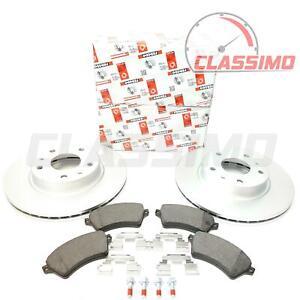 Ferodo Vented Front Brake Discs & Pads for LAND ROVER FREELANDER Mk1 - 2000-2006