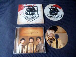 2 CDs DAS PACK DEBUT 2007 und SAME Hamburg 2010 Angelala Geh Mir Aus Der Sonne