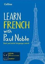 Learn French with Paul Noble by Paul Noble (2012, CD) 12 cd's w/ booklet
