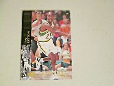 1994 Upper Deck SE Electronic Gold Gary Payton Seattle Supersonic's
