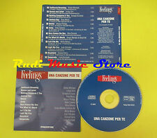 CD UNA CANZONE PER TE FEELINGS compilation PROMO 2002 WOMACK ROXY SIMONE(C7*)