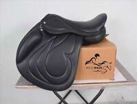 "New Jumping leather saddle / jumping saddle (Available size 16"" 17"" 18"")"