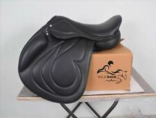 "New Jumping leather saddle / jumping saddle (Available size 16"" 17"" 18"")"
