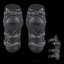 O'neal Pumpgun MX Motocross Noir protection des genoux Genouillères avec