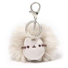 Gund New * Pusheen Poof Key Chain * Tabby Kitty Stuffed Toy Plush Plushie