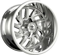 22 inch 22x14 RBP Glock Chrome wheel rim 6x5.5 6x139.7 -76