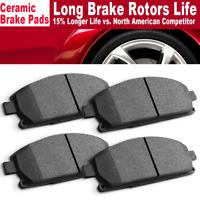 Rear Ceramic Brake Pads 2SET For BMW 528i Centric Front
