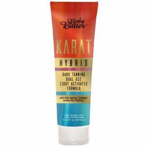 NEW Body Butter KARAT HYBRID Dark Tanning Sunbed Accelerator Lotion Cream + GIFT