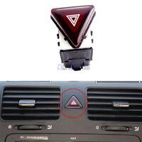 OE New Red Hazard Warning Flash Switch Button For VW Jetta Golf MK5 GTI Rabbit