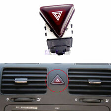 OE New Red Hazard Warning Flash Switch Button For VW Jetta Golf MK5 GTI Rabbit