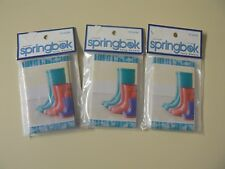 Springbok Set of 3 Bridge Tallies Boots Red Blue Purple Rain Shoe 12/Pack