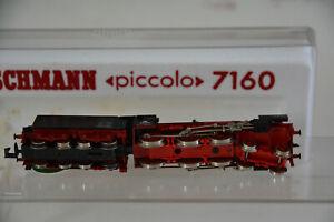Locomotive Vapeur Fleischmann Piccolo 7160 - 1/160 train voie N