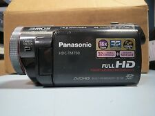 Panasonic HDC-TM700k 32 GB Camcorder.  ONLY THE CAMERA, NO BATTERY.