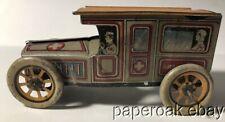ca1915 Tin Litho Ambulance Toy Auto