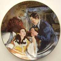 Gone With The Wind MGM 50th Anniversary Plate-Scarlett & Rhett's Honeymoon