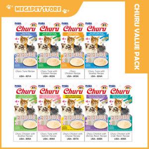 INABA CIAO Churu Cat Lickable Puree Wet Treats Value Pack 14gx36, 9 Flavours