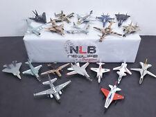 Lot of 19 Used Toy Metal 1/144 Die-cast Airplanes