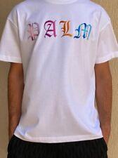 PALM ANGELS MULTICOLOR LOGO T-SHIRT Size M