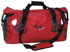 """MFH FoX Outdoor Tragetasche """"Dry Pak 40"""" Transporttasche Sporttasche Rot 40l"""