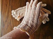 vintage gant  crochet@old glove