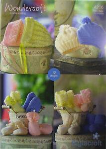 4206 Stylecraft Wondersoft Baby DK Knitting Pattern With 12 Designs