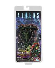 "Aliens Series 13 SNAKE ALIEN 7"" Scale Action Figure NECA Kenner Tribute"