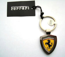 Genuine Ferrari Rotating Shield Keychain / Key Chain